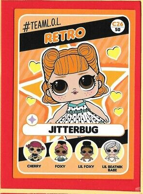 LOL SURPRISE let's be friends - Panini 2019 - Trading-CARD n. 26 -New