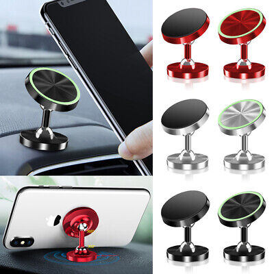 360° Magnetic Car Dashboard Phone Holder Mount Stand For Cellphone GPS Universal