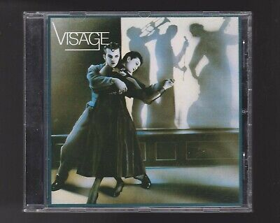 Visage(Ultravox/Midge Ure) CD S/T 1980 Synthpop Fade To Grey Import Billy Currie