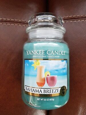 Yankee Candle Bahama breeze large jar. USA exclusive