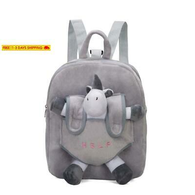 Unicorn Kid Backpack With Safety Harness Leash For Boy And Girl On Airplane Or T