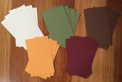 """A5 """"EARTH"""" TEXTURED CARDSTOCK, 20 pack, 5 COLOURS, 216gsm"""
