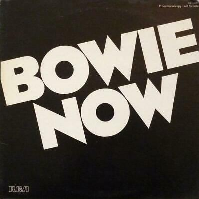 "David Bowie ""NOW"" 1978 RCA DJL1-2697 ~ White Label Promo~First Pressing~NM"