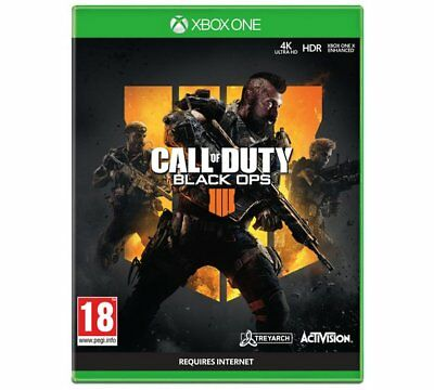 Xbox One Call of Duty Black Ops 4 New and Sealed Game UK Pal Same Day Dispatch