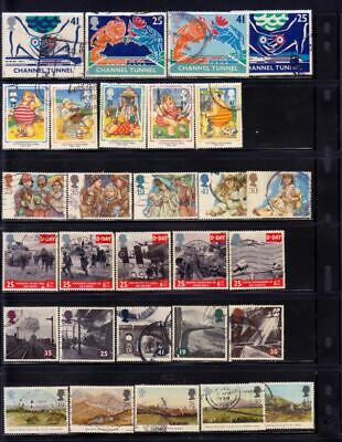 Uk Collection Of Stamps, Used
