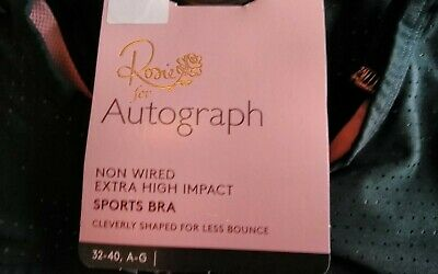 NWTG marks spencer Rosie for Autograph Nonwired Extra High Impact Sport Bra