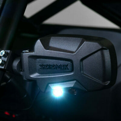 Seizmik Pursuit Night Vision Led Mirror Set Pair Can Am Commander Maverick