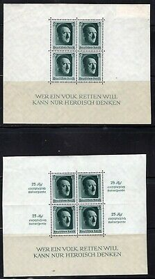 Lot Germany, DR, block HITLER, MH, combine shipping 10