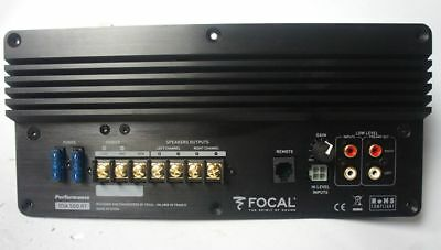 Focal Expert DSA 500RT Active Digital 2.1, Car Subwoofer Plate Amplifier, new