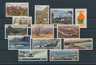 LJ89990 South Africa Amajuba landscapes fine lot MNH