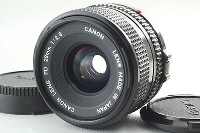 [NEAR MINT] Canon NEW FD 28mm f2.8 Lens NFD Wide Angle Lens From Japan #00176