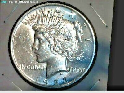 1923 Peace Dollar AU-MS nice coin!