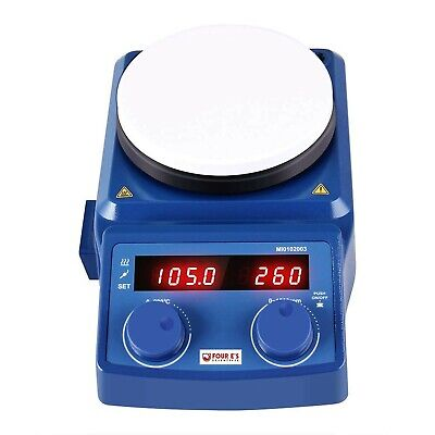 5 Inch Hot Plate Magnetic Stirrer, Ceramic Coated Plate, 50-1500 RPM, RT-280°...