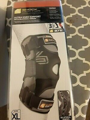 358d24d8ff Shock Doctor Ultra Knee Support With Bilateral Hinges /3/size Xl/875