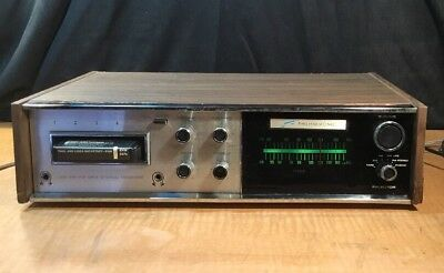 Very Rare Morse Electrophonic Am Fm Receiver 8 Track Player- Model T-480