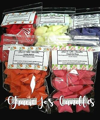 2 pk Bundle Primitive Rustic Country Stars Wax Melts Candles Home Fragrance 40pc
