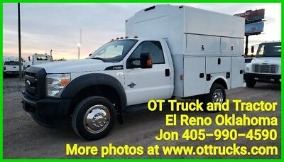 2013 Ford F-450 F450 4wd Reg Cab 9ft KUV Service Utility Bed 6.7 Diesel