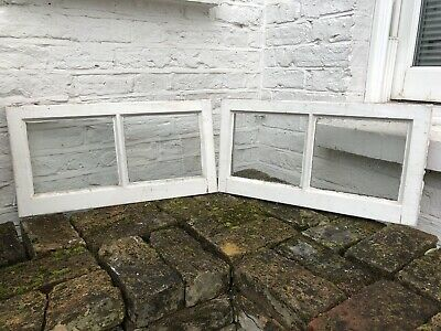 Pair Of Modern Wooden Picture Frame Windows