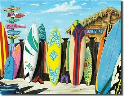 91cc5b2953 Westmoreland Surf Shack Competition Surfing Hawaii Vintage Retro Metal Tin  Sign