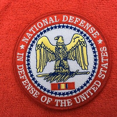 Us Department Of Defense National Defense Service Medal Patch