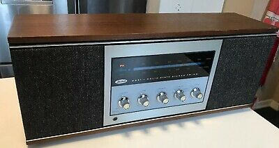 Vintage ALLIED Radio Shack model 2691 STEREO RECEIVER wood Case Am/Fm