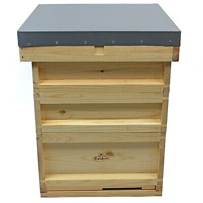National Bee Hive Bee Keeping Pine 2 Super 1 Brood Beekeeping  2ND 436 1916