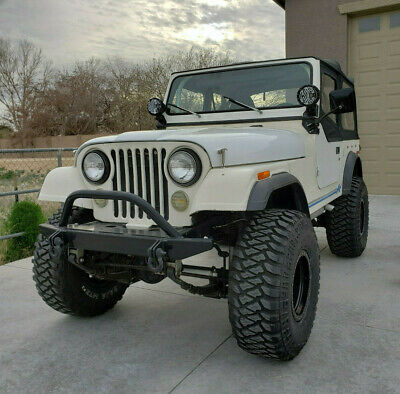 1978 Jeep CJ  1978 CJ7 Jeep 4.10s, 4 inch lift, 360 AMC, Daily Driver, New Interior, Soft Top