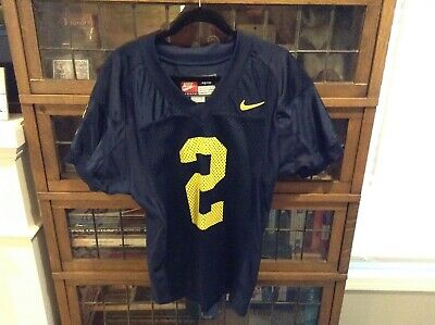 new concept 05594 2ba43 NIKE #2 CHARLES Woodson Authentic Football Jersey MICHIGAN ...