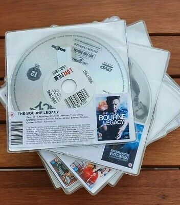 50 Mixed Ex LoveFilm DVD [Disk ONLY] NO DOUBLES, RESELL JOBLOT?