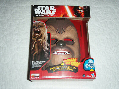 (8)Star Wars The Force Awakens Chewbacca Mask