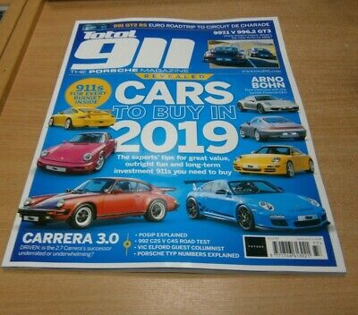 Total 911 magazine #177 2019 Cars to Buy, 997.1 V 996.2 GT3, Carrera 3.0 & more