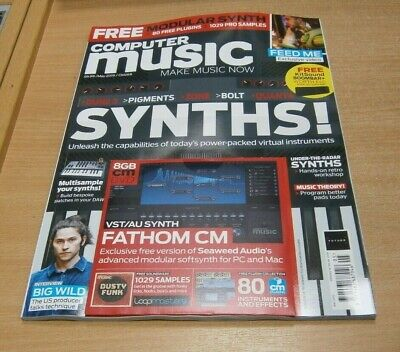 Computer Music magazine MAY 2019 Synths, Dusty Funk Samples  + VST/AU Plugin