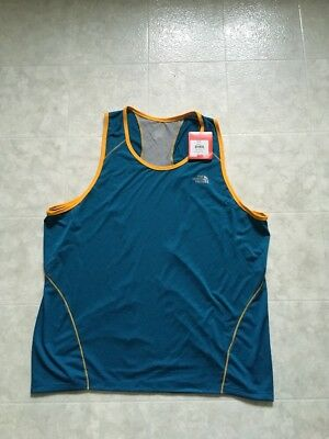 4f5cade66a411 THE NORTH FACE Men s Flight Series XL Extra Large Tank Top FlashDry Blue