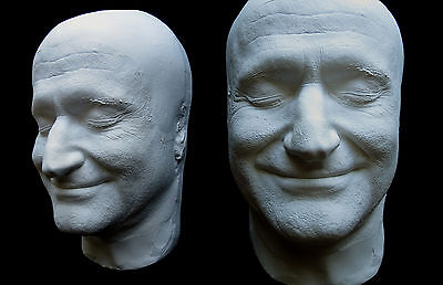 Robin Williams Smiling Life Mask Lifecast