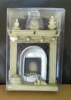 DOLLS HOUSE 1/12th SCALE RESIN ORNATE FIREPLACE - NEW