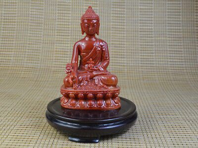 Fine Old Jade Statue Figurine Decorated Hand-carved Ancient Buddha&buddhism