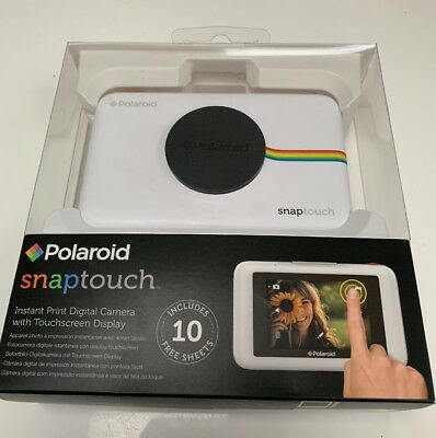 Polaroid Snap Touch - LCD TouchScreen Instant Print  Camera White - Fully Boxed
