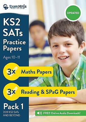 2019 KS2 SATs Practice Papers - Pack 1 (English Reading, SPaG & Maths) ...