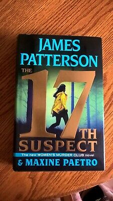 The 17th Suspect (Women's Murder Club by James Patterson, NEW with Dust Jacket