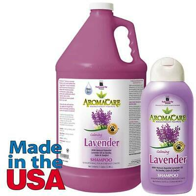 Calming Lavender Dog Shampoo Aromatherapy Choose 13.5 oz or Gallon Concentrate