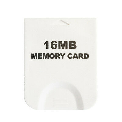 16MB Memory Data Card Nintendo Wii GC Gamecube Video Game Console System CANADA