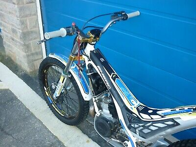 sherco st 300  factory cabestany trials bike