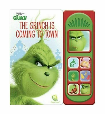 Dr. Seuss' Illumination Play A Sound The Grinch is Coming to Town