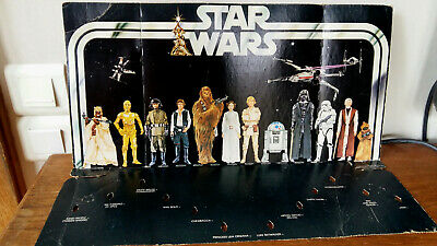 STAR WARS VINTAGE EARLY BIRD PLAYSET 1977 KENNER Display Action Figure