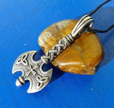 Vikings and Celtic Amulet  Labrix Battle Ax. Reproductions.