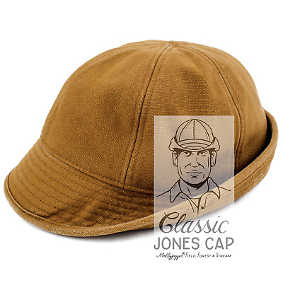169d9e297b379 JONES CAP NEW Hat Classic Hunting Duck Brown LARGE Waterfowl Upland ...