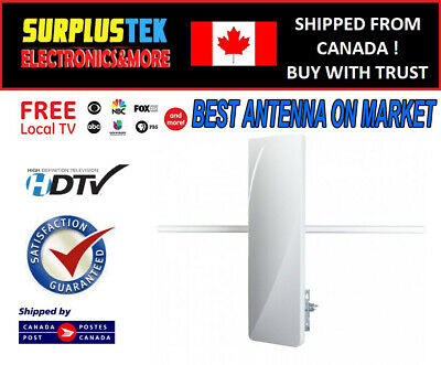 NEW EagleStar Pro Digital Outdoor HDTV VHF&UHF Antenna with Amplifier HIGH GAIN
