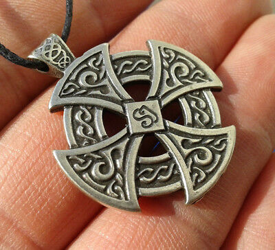 Vikings and Celtic Amulet. Celtic Cross.