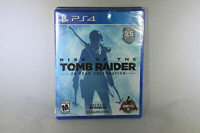 Rise of the Tomb Raider: 20 Year Celebration (PS4, Sealed)