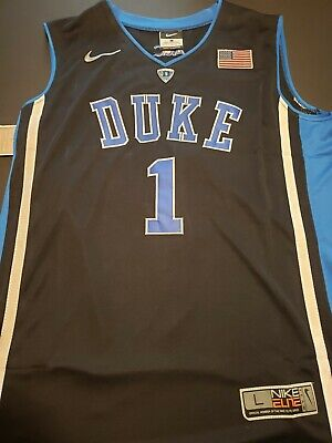 91e2ba8ae5bf ZION WILLIAMSON  1 Duke Blue Devils Black Mens Jersey -  74.99 ...